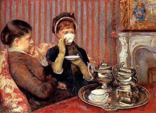 Mary Cassatt (1844-1926), The Tea.